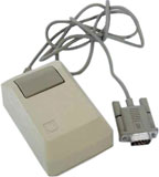Original Macintosh serial mouse M0001