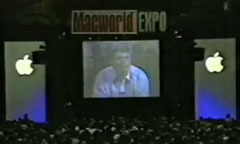 Bill Gates addresses Macworld Expo