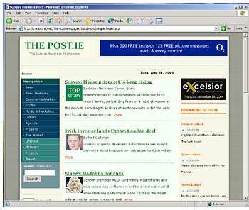Figure 2: The Post in Explorer for Windows