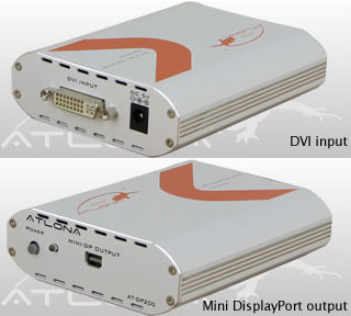 Atlona AT-DP200 DVI-to-Mini DisplayPort Converter