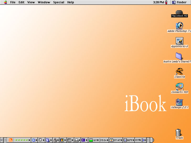 Resurrecting a Clamshell iBook, Part 4 | Low End Mac