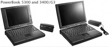 PowerBook 5300 and 3400/G3
