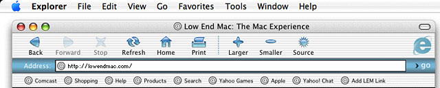 mac internet browser