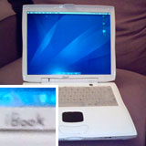 Lombard Powerbook painted white