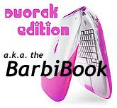 Hot pink BarbiBook mockup