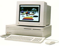 Mac II with 13 inch RGB display