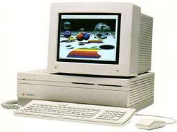 Macintosh IIfx with RGB display
