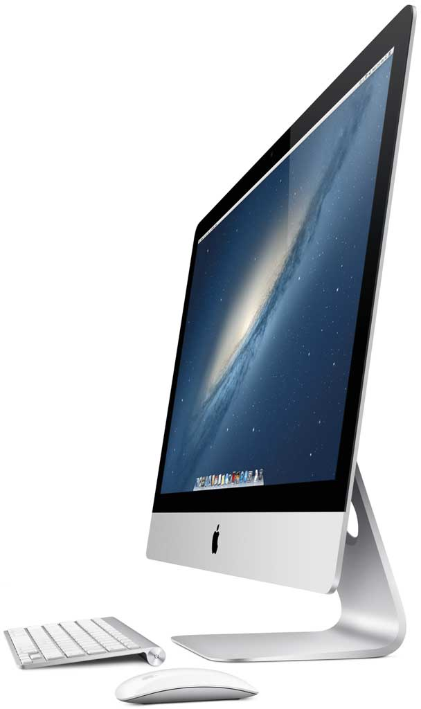 "side view of 27"" iMac"