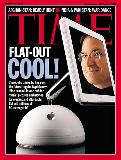 iMac G4 on cover of Time magazine