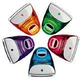 candy colored iMacs