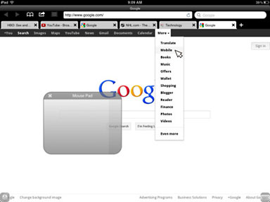 Windowed Multitasking for iPad, Puffin iOS Web Browser