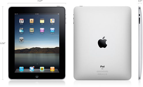 iPad dimensions