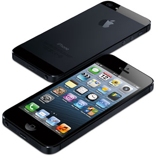 black iPhone 5