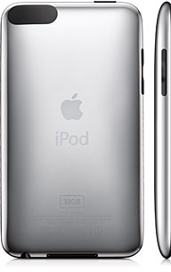 back and side of 2G iPod touch