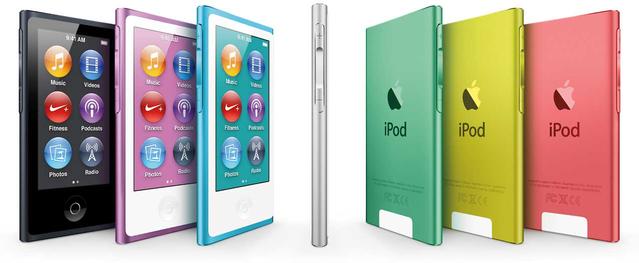 7G iPad nono comes in 7 colors