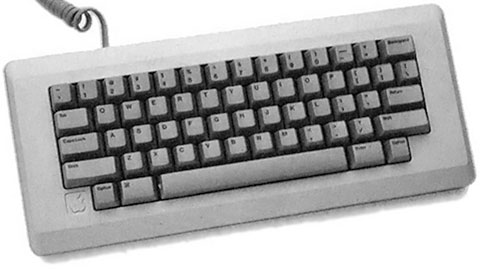 Original Macintosh keyboard