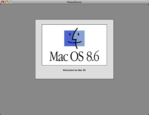 Mac OS booting in SheepShaver