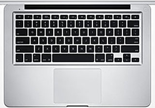 Keyboard on Unibody MacBook