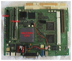 Mac LC 575 logic board with Comm Slot