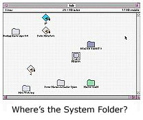 Where's the system folder?