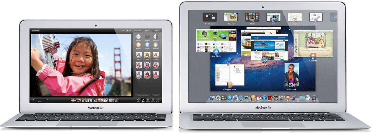 11-inch and 13-inch MacBook Air