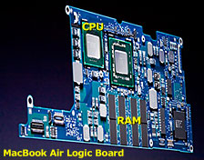 MacBook Air logic board