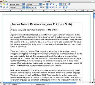 Papyrus Office: A $99 Alternative to Microsoft Office