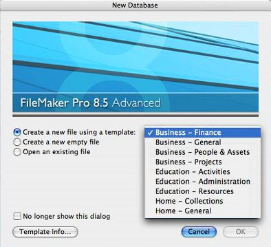 FileMaker Pro 8 5 Well Worth Checking Out