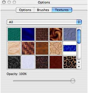 texture options