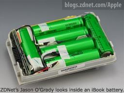 inside an iBook battery