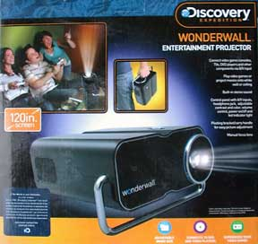 Discovery Expedition Wonderwall Entertainment Projector box