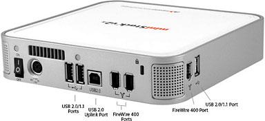mac mini firewire external hard drive