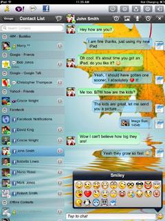 Agile Messenger HD for iPad
