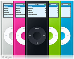 2nd generation iPod nano