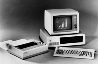 Original IBM PC system from 1981