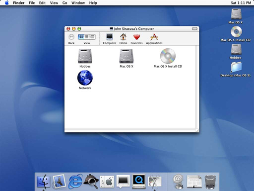 Mac OS X 10.2 Jaguar