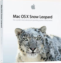 OS X 10.6 Snow Leopard retail box