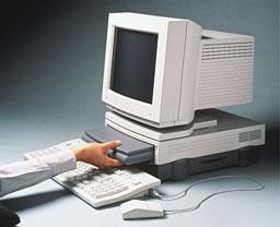 PowerBook Duo in Duo Dock
