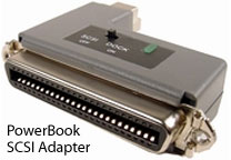 PowerBook SCSI adapter