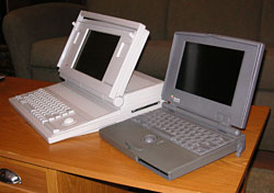 Mac Portable and PowerBook 100