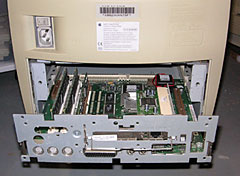 Performa 5400 slide-out motherboard