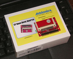 single-slot Addonics CF-IDE adapter