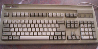 Avant Prime keyboard