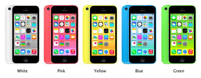 5c-colours