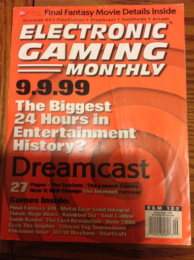 EGM 122 gives you all the details on the release of the Sega Dreamcast