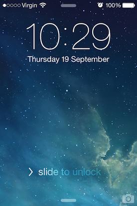 iOS 7 Wallpaper Gallery