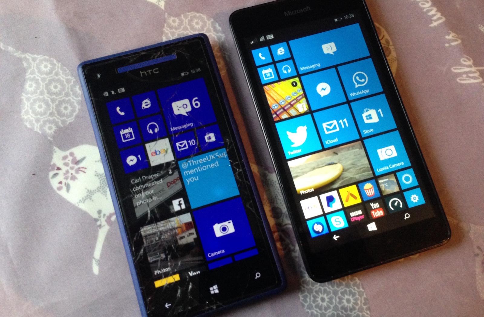 Как сделать скриншот экрана на смартфонах Windows 17