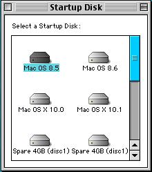 Mac OS 8 Startup Disk