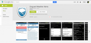 OnGuard Weather Alerts