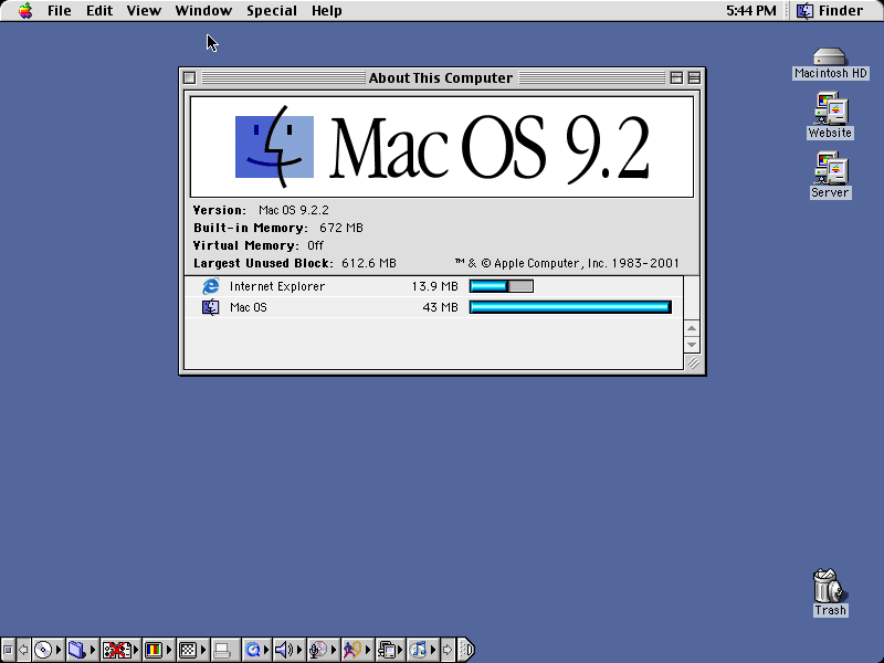 mac operating system software
